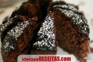 Bolo Diet de Chocolate para Diabéticos