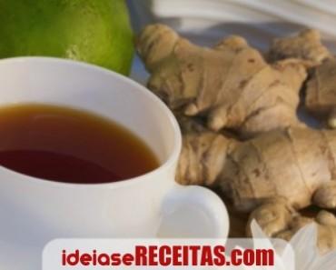 Dieta poderosa com chá de Gengibre