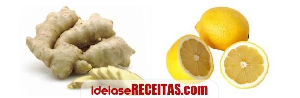 Dieta com sumo de limão e gengibre para emagrecer