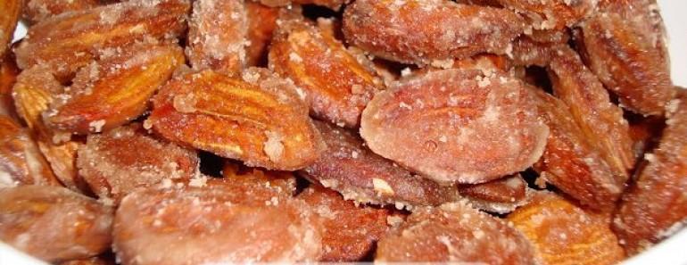 Amêndoas de Páscoa caramelizadas