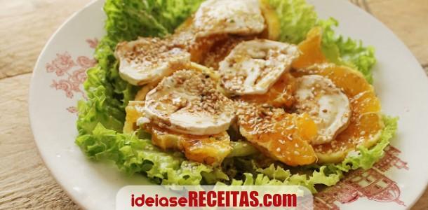 Tostinhas mediterrânicas com queijo de cabra