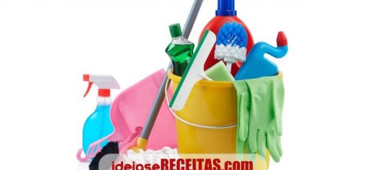 Técnicas de limpeza para eliminar manchas e odores