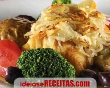Bacalhau Assado com Batatas a Murro