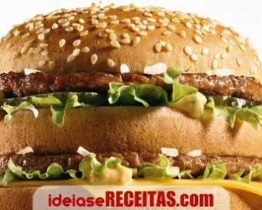 Molho especial do hamburger BigMac do Macdonalds