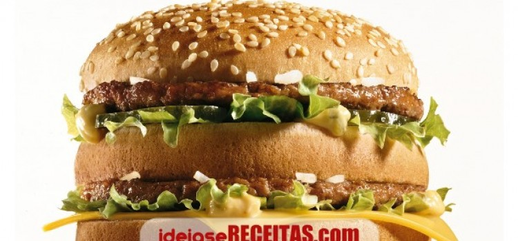 Molho especial do hamburger BigMac do Macdonalds