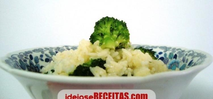 receita risoto brocolos