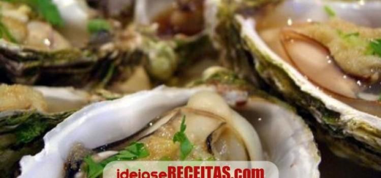 receita ostras portuguesa