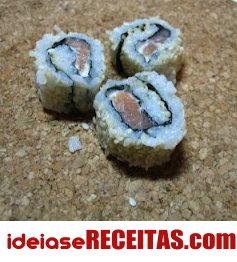 Como fazer sushi passo a passo - Sugestões de Recheio