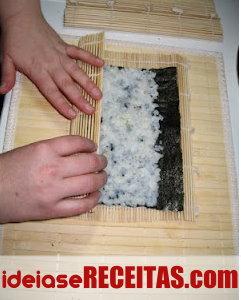 Como fazer sushi passo a passo - Aprender a Enrolar