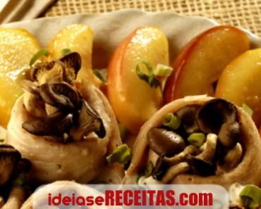 linguado-cogumelos