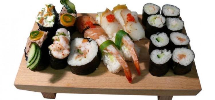 Como fazer sushi passo a passo