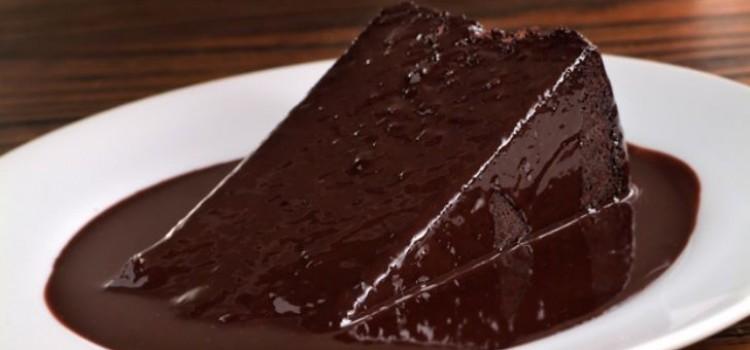 receita-bolo-com-calda-chocolate