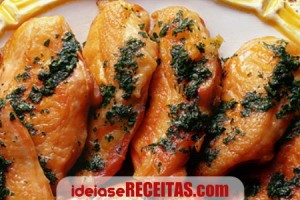 frango molho salsa limao
