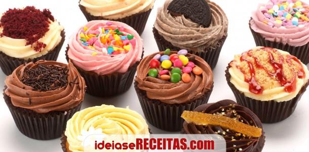 Livro de receitas de Cupcakes