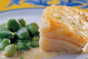 receita bacalhau fava fresca