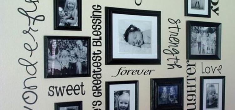 Receita de ideias criativas para decorar a casa com as fotos preferidas - Fotos para decorar ...