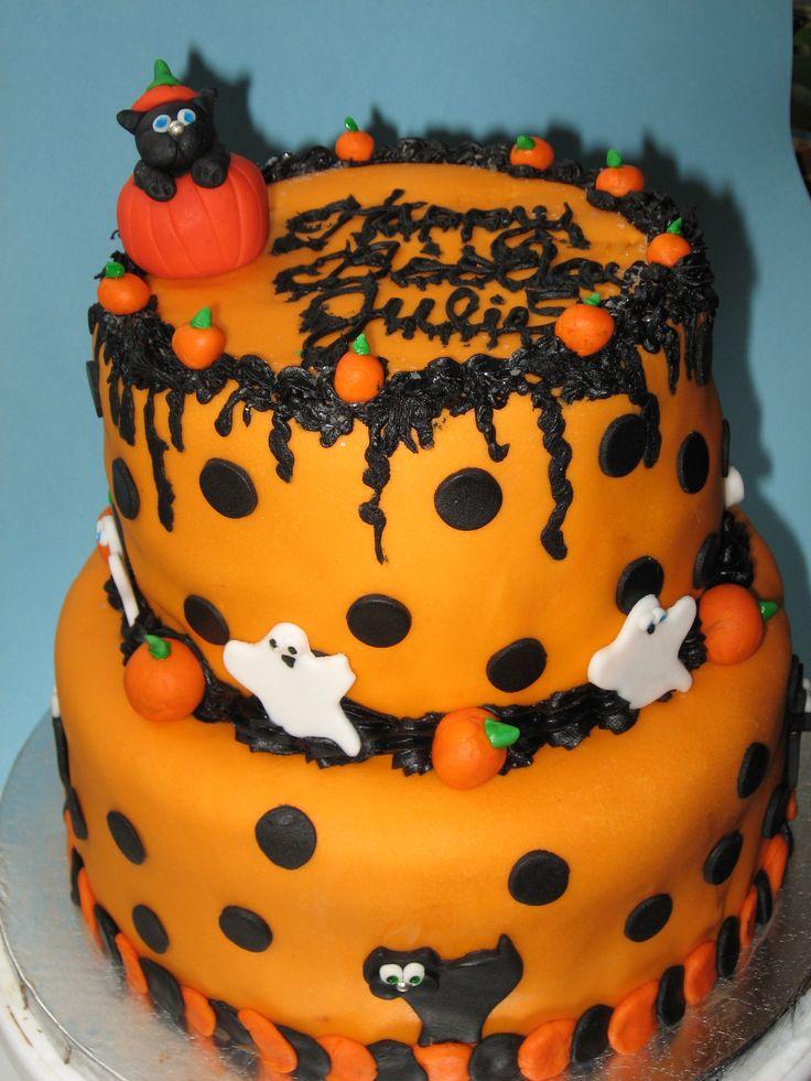 Halloween Birthday Cakes To Make