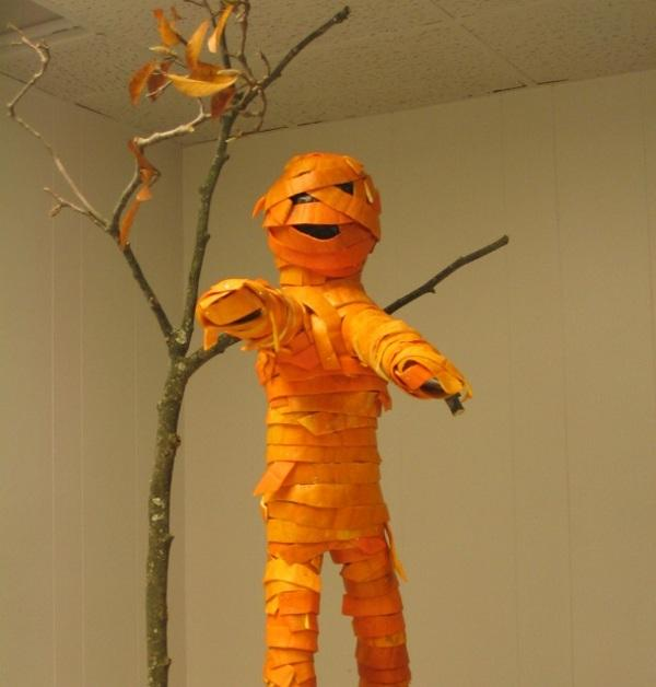 50 ideias decoraç u00e3o para o Halloween -> Decoração De Halloween Com Materiais Reciclados