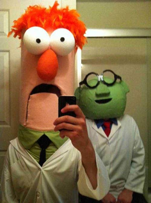 cosplay-muppets-beaker-bunsen-costume1