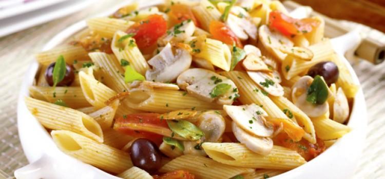 comidas de halloween 10 receitas de arrepiar : Receita de Massa com cogumelo e tomate