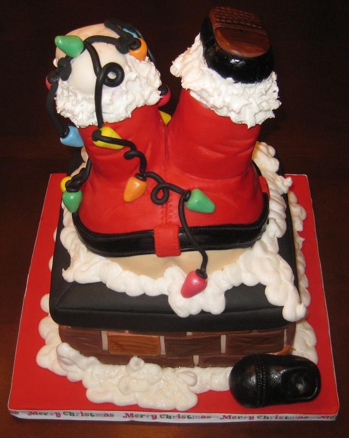 Decoração de bolos para o Natal