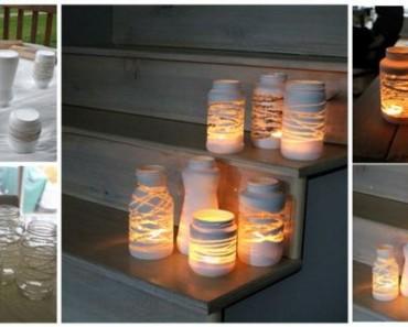 DIY-Yarn-Wrapped-Jam-Jars