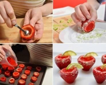 Strawberry Wiskey Jello Shots1