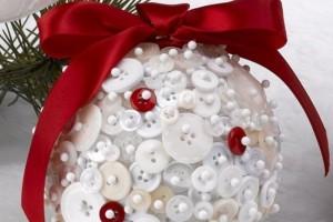 button christmas ornament 22