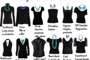 escolha o colar certo para o sua roupa1