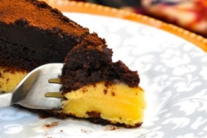 Bolo de chocolate de trufa de maracujá3