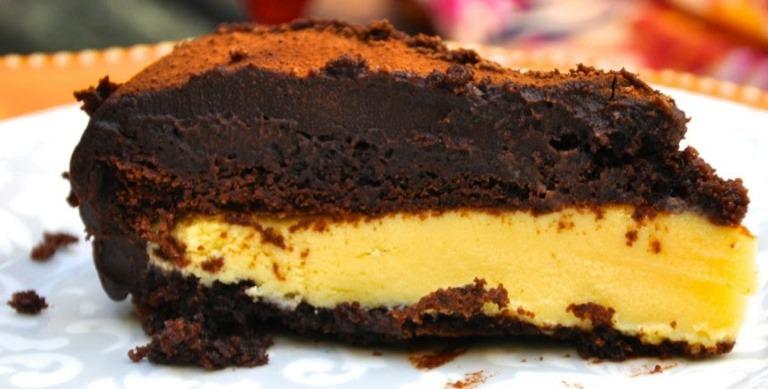 Bolo de chocolate de trufa de maracujá6