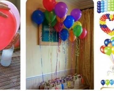 Como encher balões casa