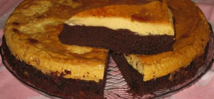 receita-bolo-pudim-chocolate-leite-condensado