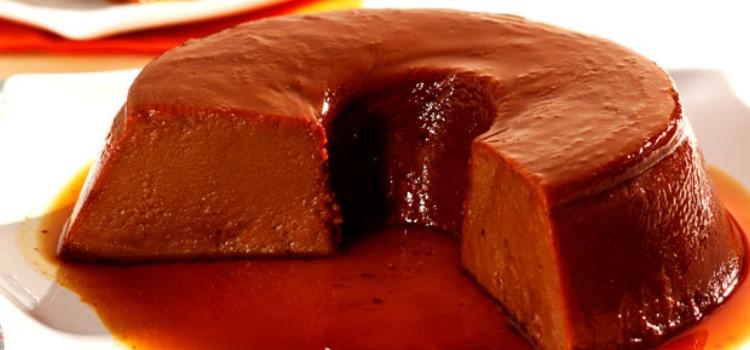 receita-pudim-rapido-chocolate