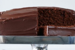 Receita de Bolo de chocolate com recheio cremoso