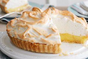 Receita tarte limao merengue