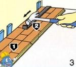 Instalação e aplicação de pavimento e soalho flutuante - Passo 3