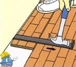 Instalação e aplicação de pavimento e soalho flutuante - Passo 6