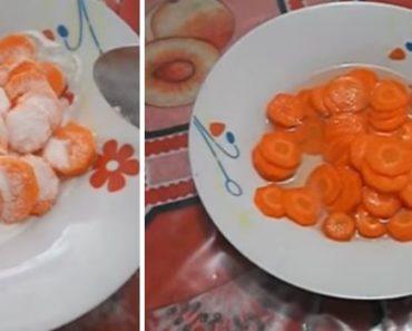 xarope de cenoura