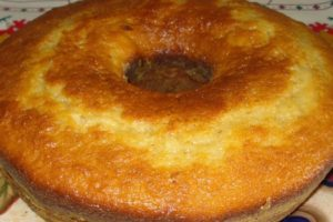 bolo laranja e coco