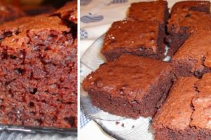 Brownies de Chocolate e Café