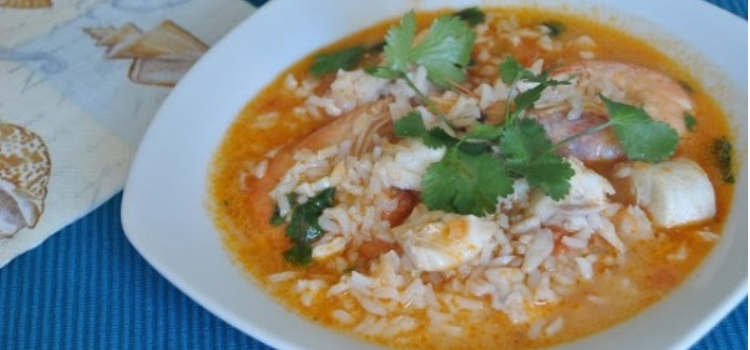 arroz malandrinho de garoupa